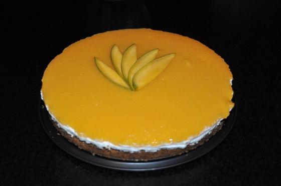 Cheesecake med mango