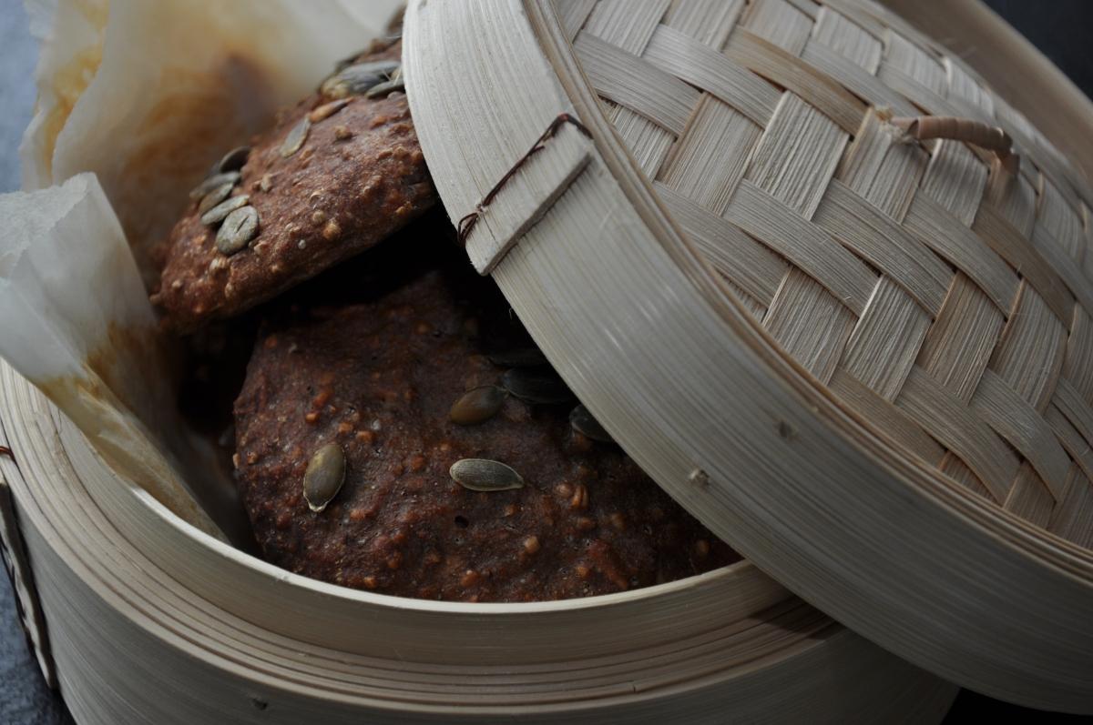 Lækre sunde rugboller til madpakken