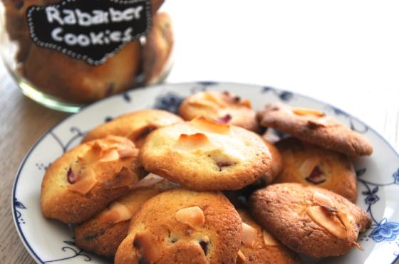 Rabarber cookies