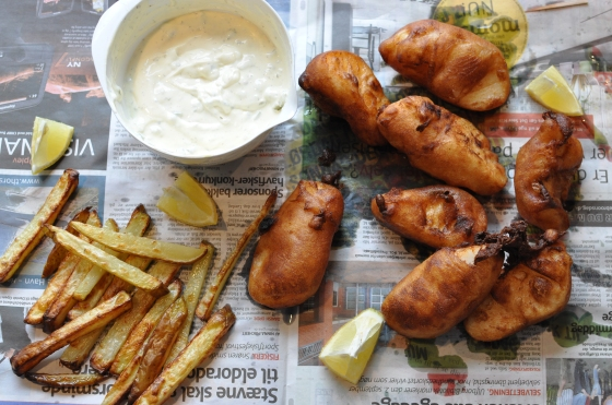 Fish'n Chips Foto: Camilla Lykke Jensen