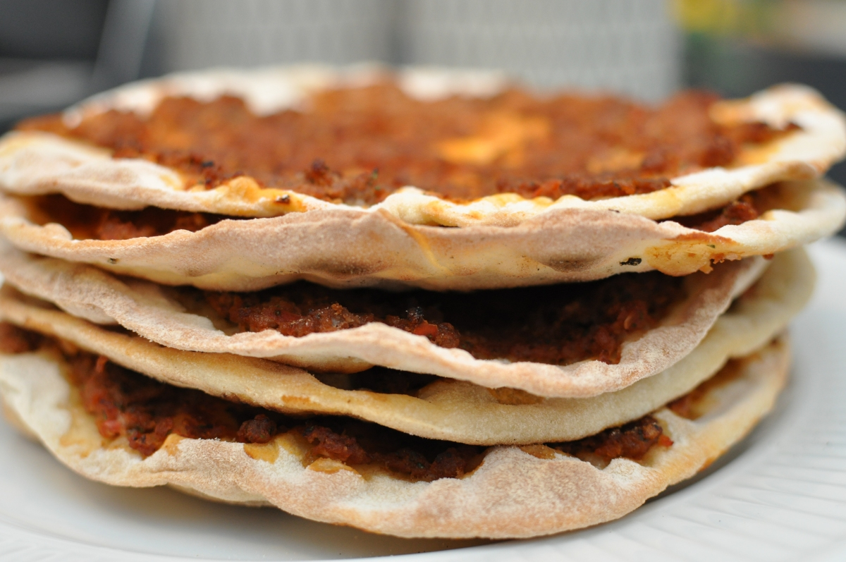 Lahmacun - Tyrkisk pizza