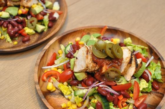 Mexicansk salat Foto: Camilla Lykke Jensen