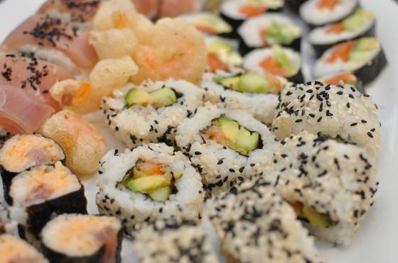 Hjemmelavet sushi Foto: Camilla Lykke Jensen