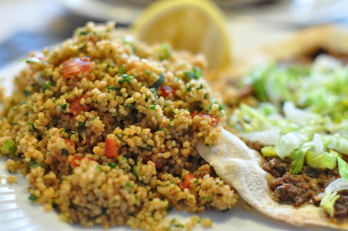 Tyrkisk couscous salat