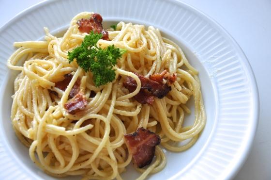 Spaghetti cabonara