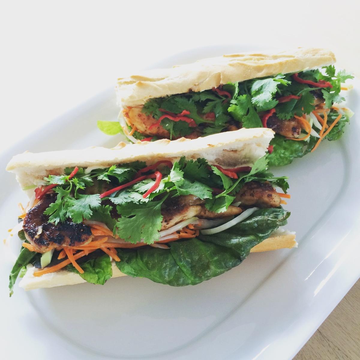 Bahn Mi - vietnamesisk sandwich